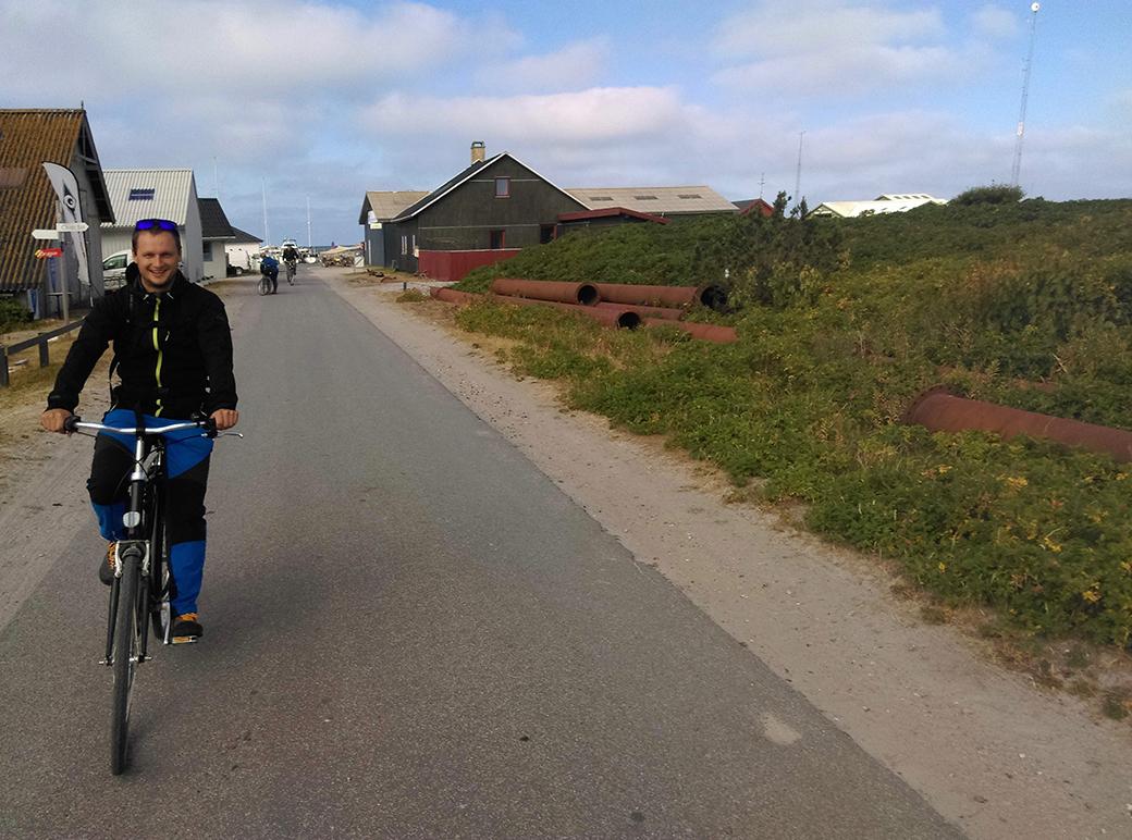 Z námořníka bicyklistou