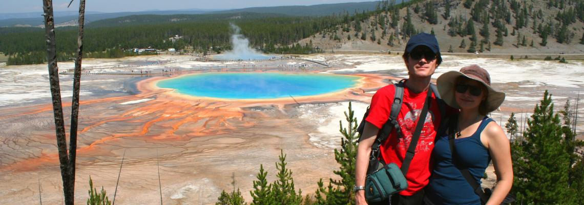 Tom & Mari Zážitky z CEST | Tom a Mari ze Serenity Explorers - život v národním parku Yellowstone a Grand Prismatic. Cestovani a zivot na palube jachty.